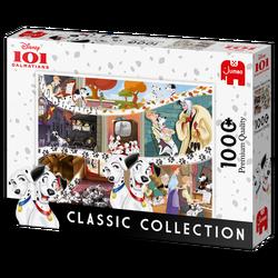 Jumbo puslespel 1000 101 Dalmatians 1000 bitar - Jumbo