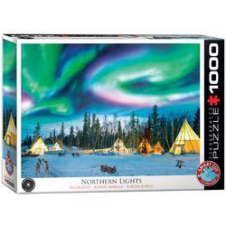 Eurographics puslespel 1000 Northern Lights - Yellowknife 1000 bitar - Eurographics