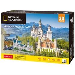 3D puslespel 121bitar Neuschwanstein Castle 121 bitar - 3d puslespill