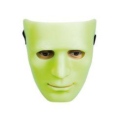 Maske state glow Selvlysende - Halloween
