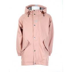 Regn parkas barn Misty pink - Kattnakken
