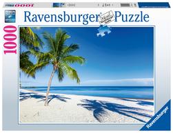 Ravensburger puslespel 1000 Strand 1000 bitar - Ravensburger