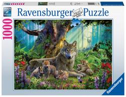 Ravensburger puslespel 1000 Ulver i skogen 1000 bitar - Ravensburger