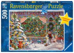 Ravensburger puslespel 500 Julebutikken 500 bitar - Ravensburger