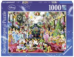 Ravensburger puslespel 1000 Disney - Alle ombord til jul 1000 bitar - Ravensburger