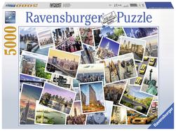 Ravensburger puslespel 5000 New York 5000 bitar - Ravensburger